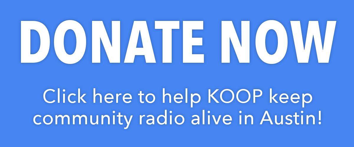KOOP Radio 91.7 FM Austin, TX