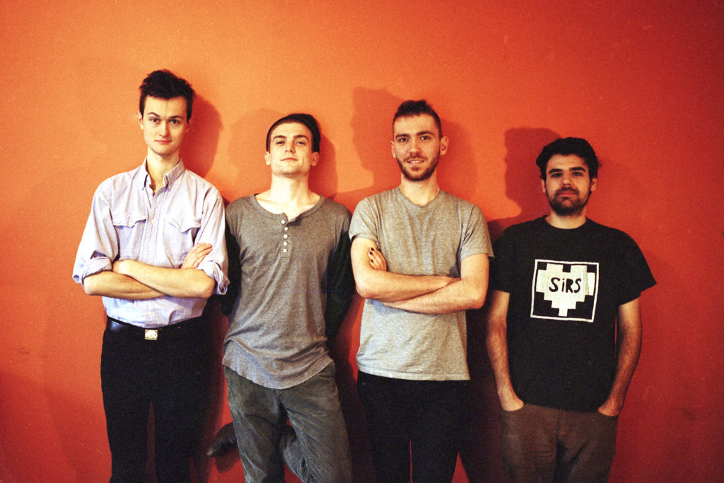 We're giving away tickets to see Ought. Source: Constellation