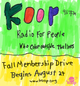 KOOP Membership Drive (Fall 2016)